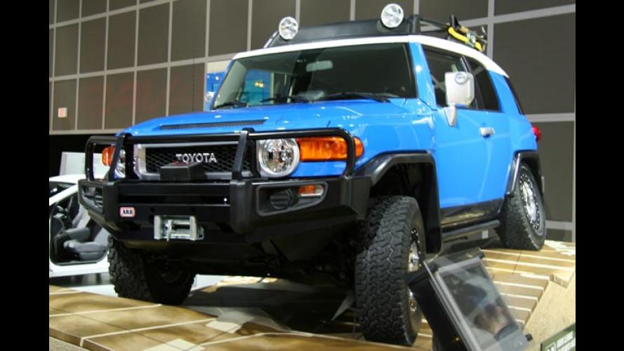 Toyota in Detroit 2006: FJ Cruiser, neuer Camry und F3R Concept
