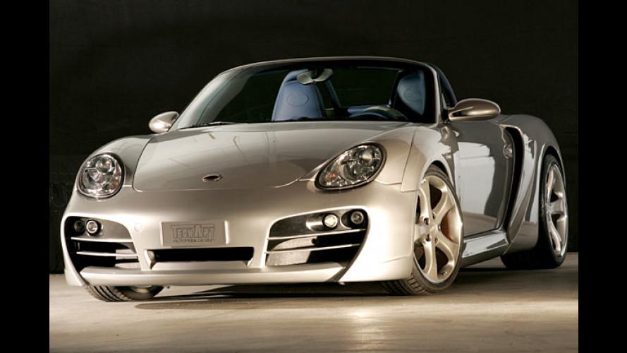 TechArt Widebody-Porsche: Boxster geht in die Breite