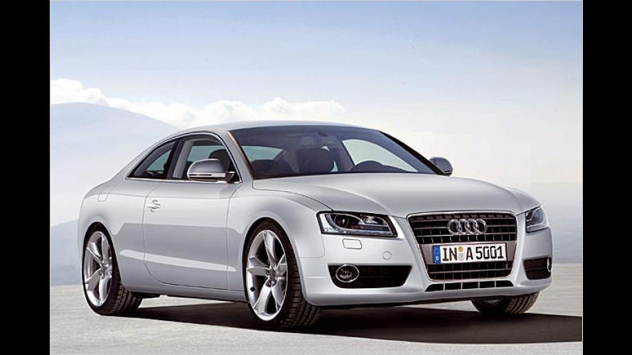 Jetzt kommt der kleine Otto: Neue Antriebe für den Audi A5