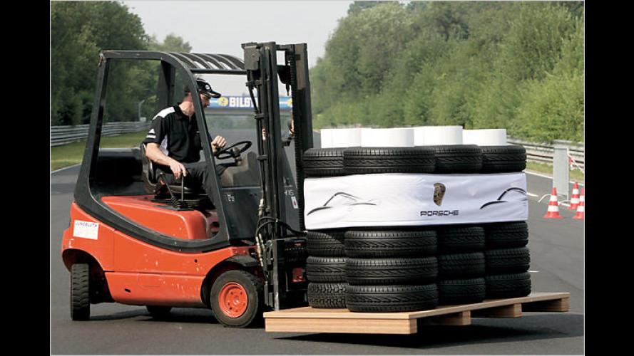 Porsche unterstützt Nürburgring mit Geld und Know-how