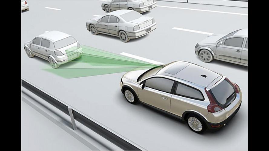 Volvo: City Safety System schützt vor Kollisionen