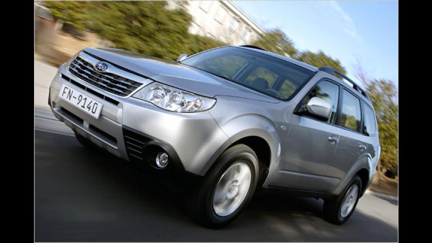 Kostenfreie Umrüstung auf Autogas-Betrieb bei Subaru