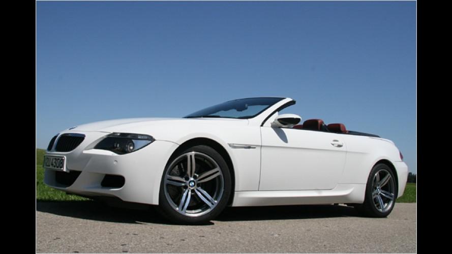 BMW M6 Cabrio mit 507 PS im Test: Auf ... und davon