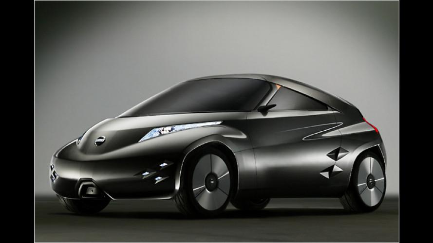Nissan Mixim: Futuristisches Coupé mit Elektroantrieb