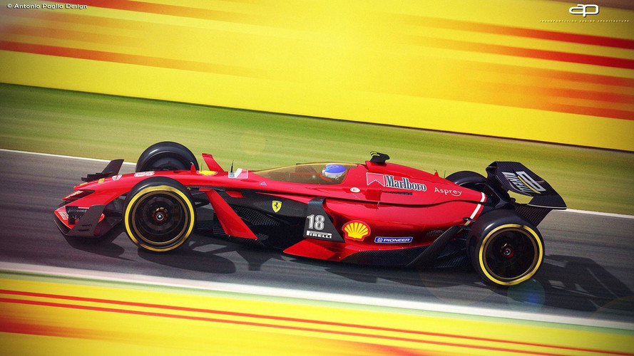 Formula 1 Vision Concept 2025