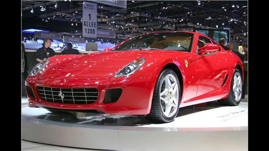 Ferrari 599 GTB: Der Nachfolger des 575M Maranello kommt
