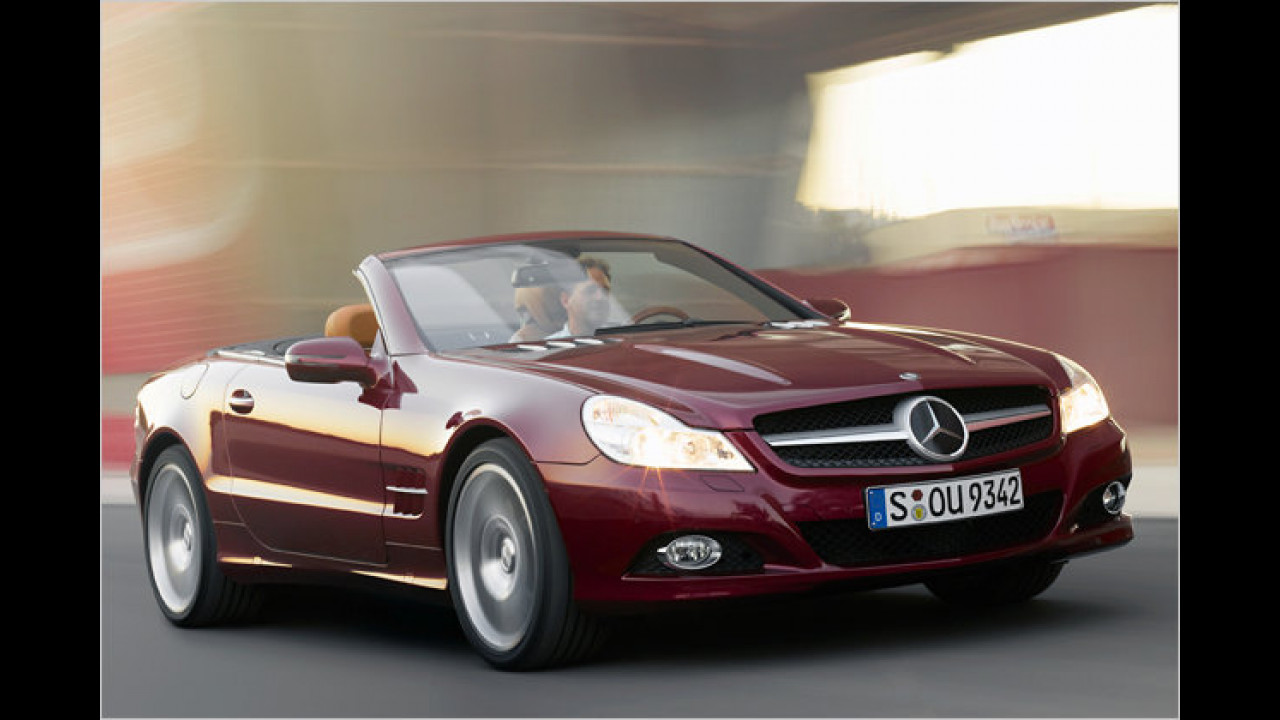 Mercedes SL 300 7G-Tronic