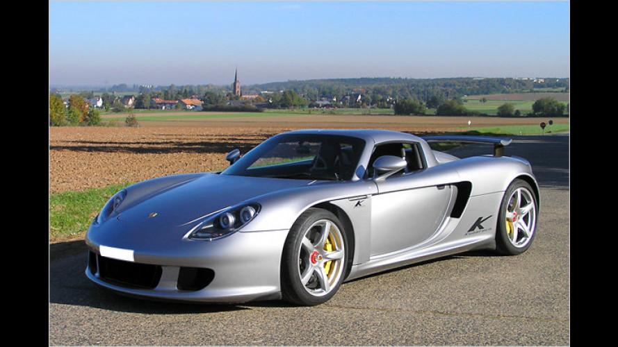 Porsche Carrera GT von Kubatech: Auf 660 PS gepusht