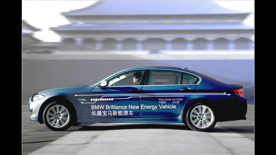 Langer Öko-Fünfer: Plug-in-Hybride von BMW für China