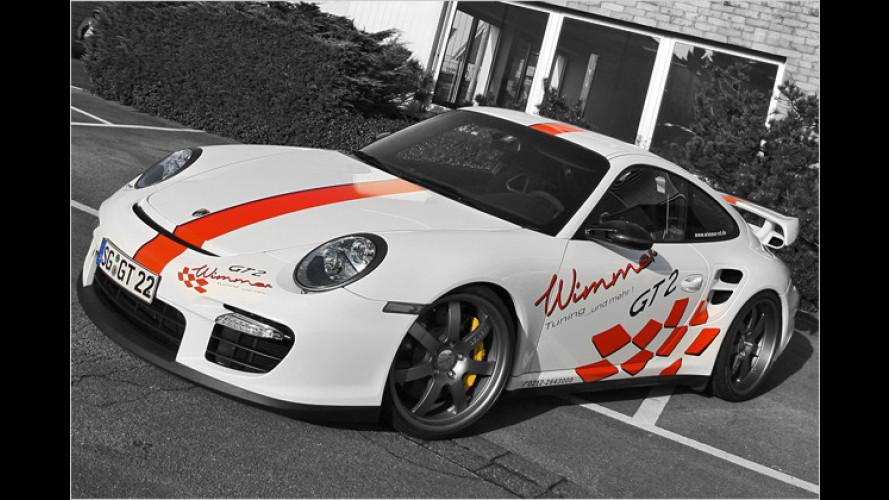 Über-Porsche mit 827 PS: 911 GT2 Speed von Wimmer RS