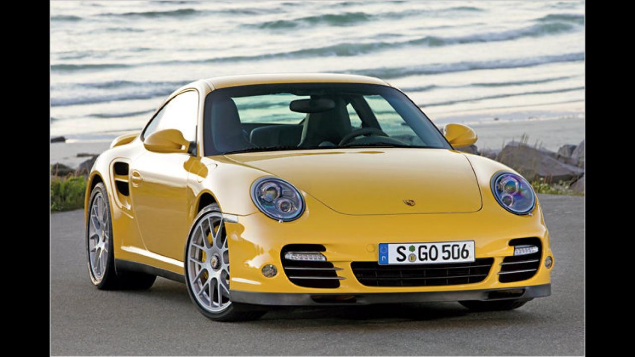 Porsche: Die häufigste Farbe ist Schwarz