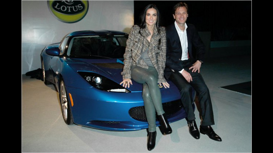 Hallo Hollywood: Lotus-Premierenparty in Los Angeles