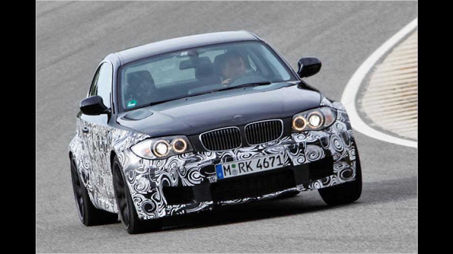Mächtiger Vortrieb: Erste Fahrt im neuen BMW 1er M Coupé