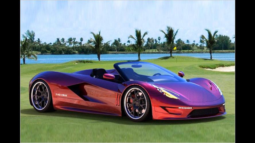 TranStar Dagger GT: Über 2.000 PS starker Super-Roadster
