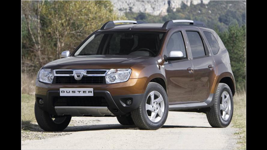 Duster: Sechstes Dacia-Modell kommt als Allradler und 4x2