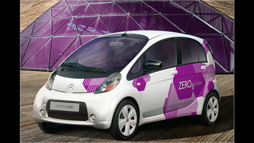 Citroën C-Zero: Neues Elektrofahrzeug für die Stadt