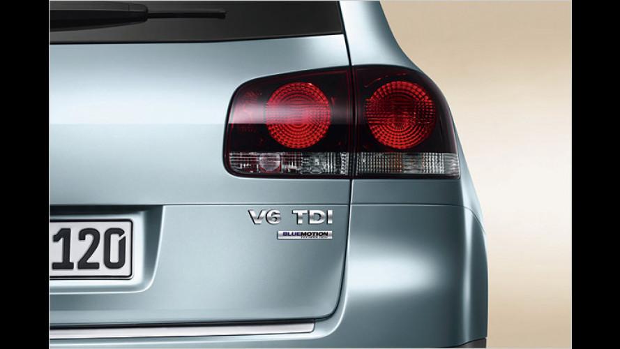 BlueMotion Technology senkt Verbrauch des Touareg V6 TDI