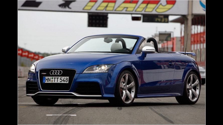Audi TT RS mit Fünfzylinder-Turbo im Test: Give me five!