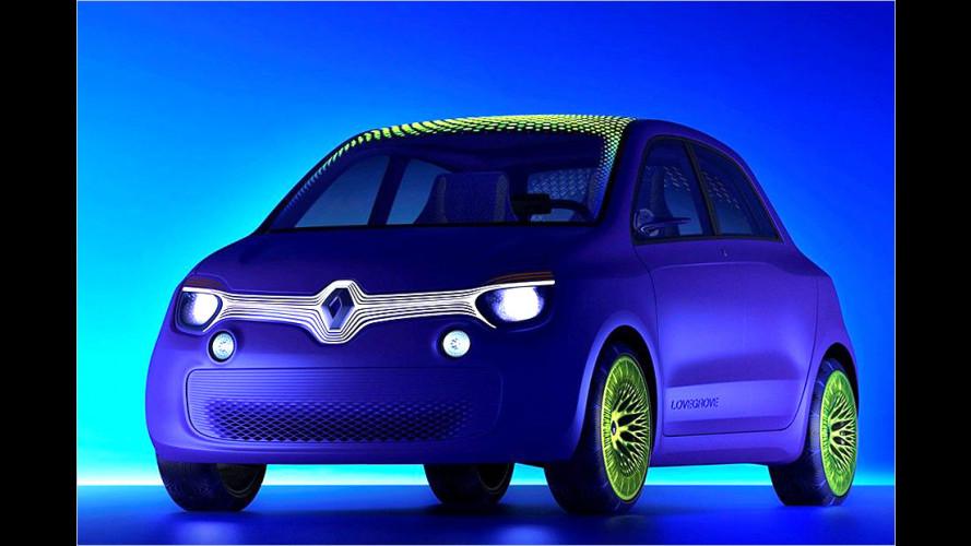 Renault Twin'z (2013): Extravagante Studie mit Elektroantrieb