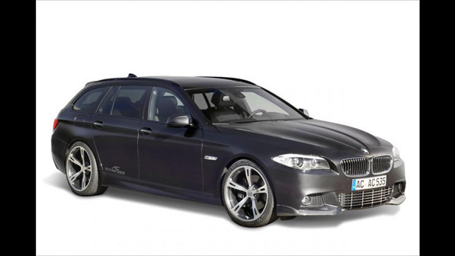 Nachgewürzt: Schnitzer veredelt BMW Fünfer Touring