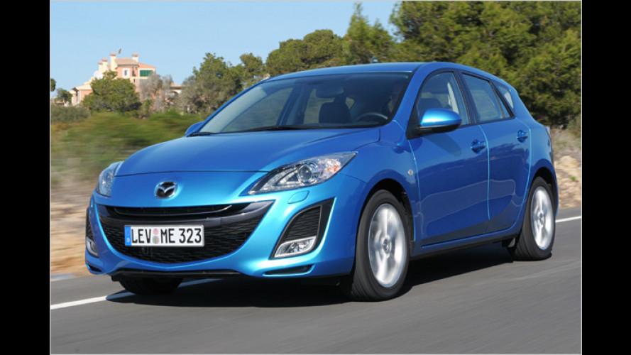 Neuer Mazda 3 im Test: Stürmische Zeiten für Konkurrenz