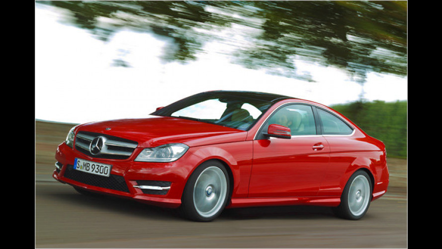 Schicker Schlitten: Mercedes C-Klasse Coupé