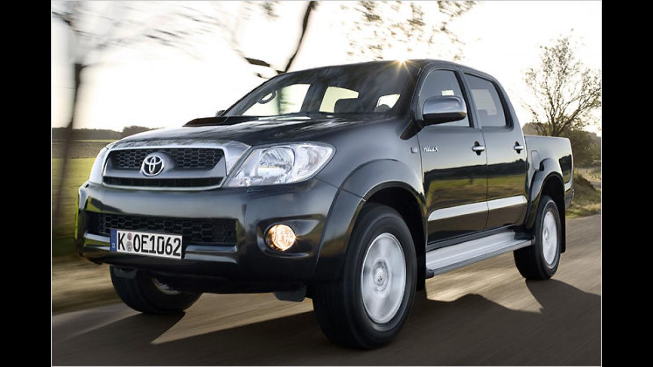 Pick-ups: Toyota Hilux 2.5 D-4D Single Cab 4x2