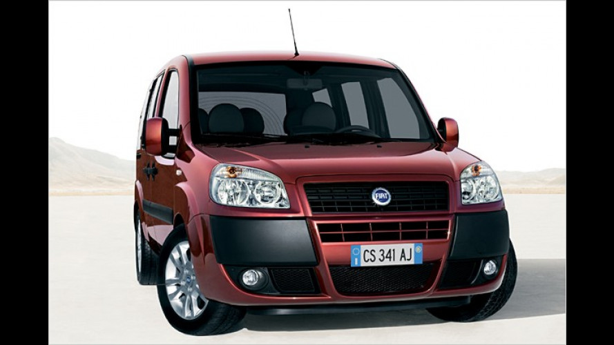 Fiat Doblò: Weniger Ausstattung, dafür günstiger