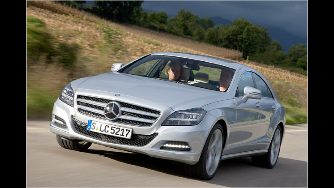 Mercedes CLS 500 BlueEfficiency 7G-Tronic Plus