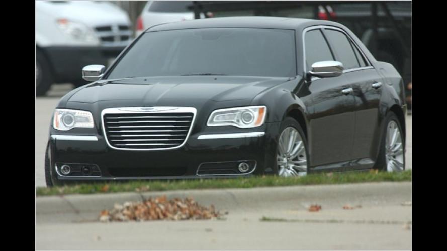 Erwischt: Neuer Chrysler 300C ungetarnt abgelichtet