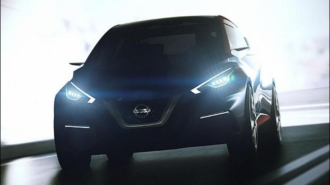 [Copertina] - Nissan Sway, idee per la nuova Micra