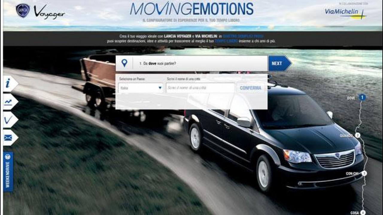 [Copertina] - Lancia Voyager configura viaggi online