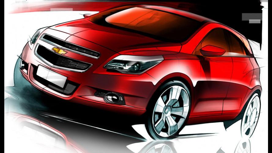 Chevrolet Agile: i primi bozzetti