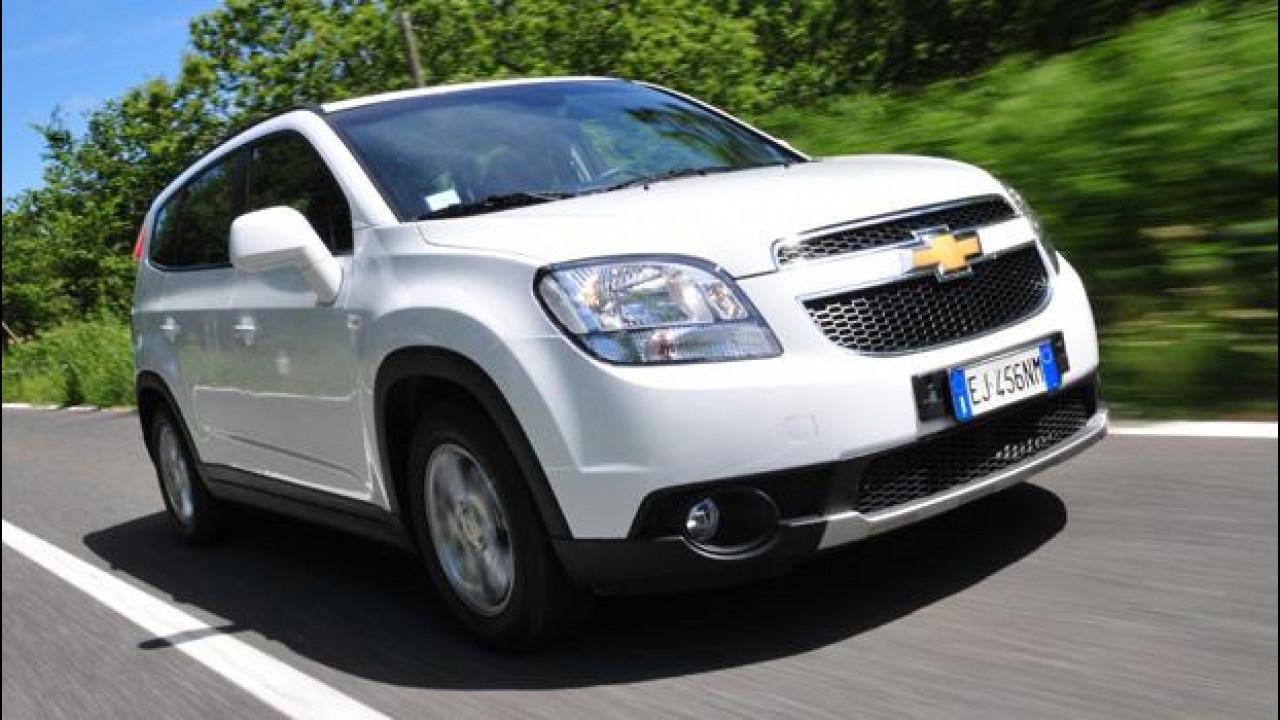 [Copertina] - Chevrolet Orlando 1.8 GPL LT