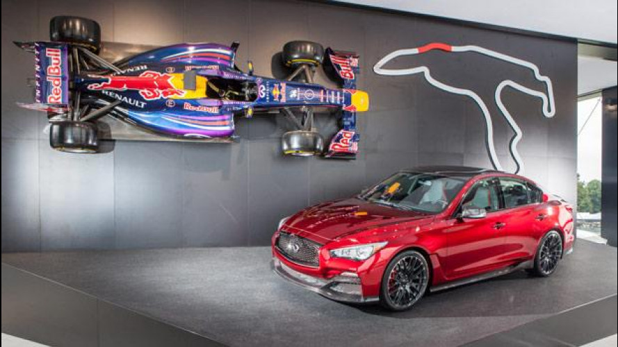 Goodwood stregata da Infiniti [VIDEO]