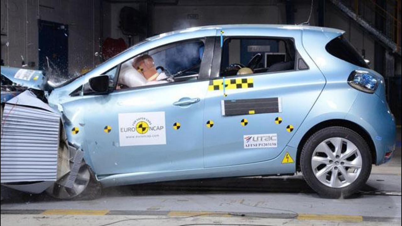 [Copertina] - Euro NCAP: crash test a 5 stelle per Zoe, Octavia, Auris e RAV4