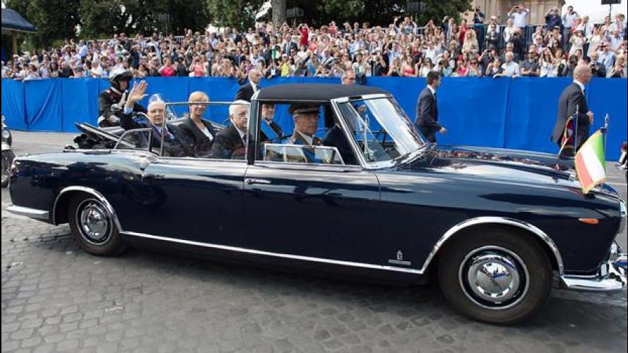 Tutte le auto del Presidente della Repubblica