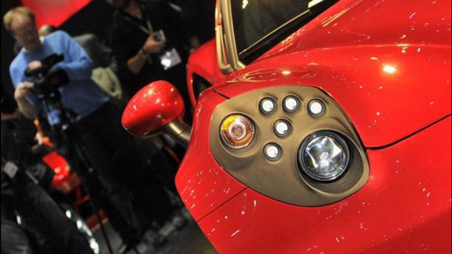 Salone di Ginevra: i fari dall'Alfa Romeo 4C