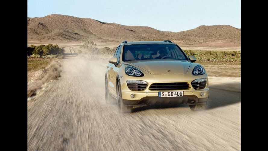 Porsche Cayenne: 100.000 unità per la seconda generazione