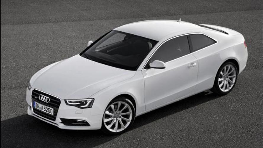 Audi A5 coupé, A5 Cabriolet e A5 Sportback: motori benzina e diesel aggiornati