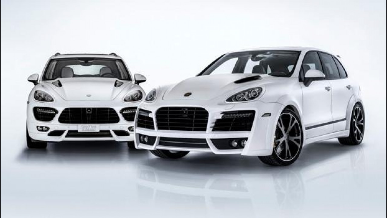 [Copertina] - Porsche Cayenne S Diesel by Techart