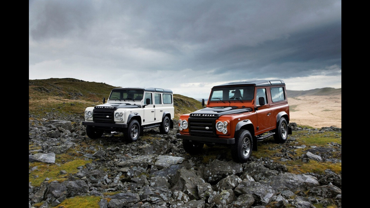 Land Rover Defender Edition Ice e Edition Fire