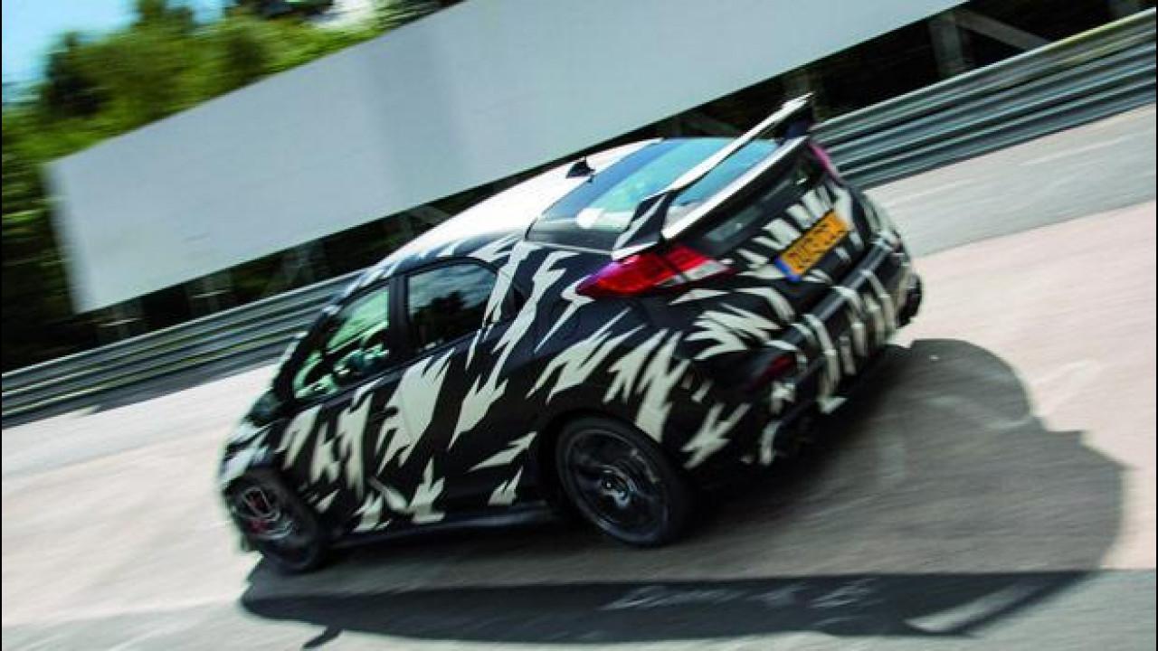 [Copertina] - Nuova Honda Civic Type-R, la trazione anteriore più veloce al Nurburgring