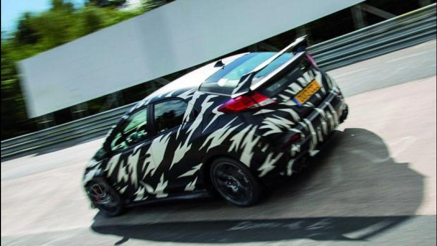Nuova Honda Civic Type-R, la trazione anteriore più veloce al Nurburgring