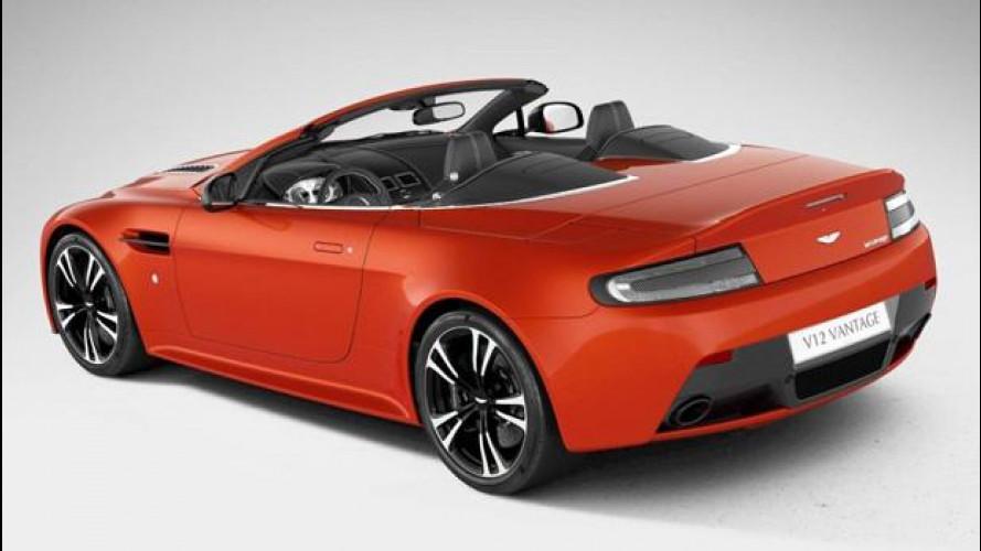Aston Martin V12 Vantage Roadster, scoperta in rete