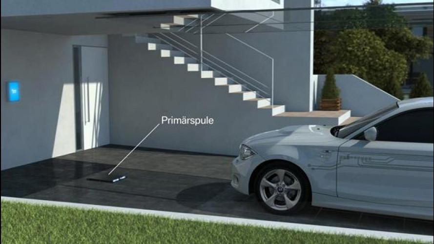 Per le BMW i3 e i8 la ricarica elettrica sarà senza fili