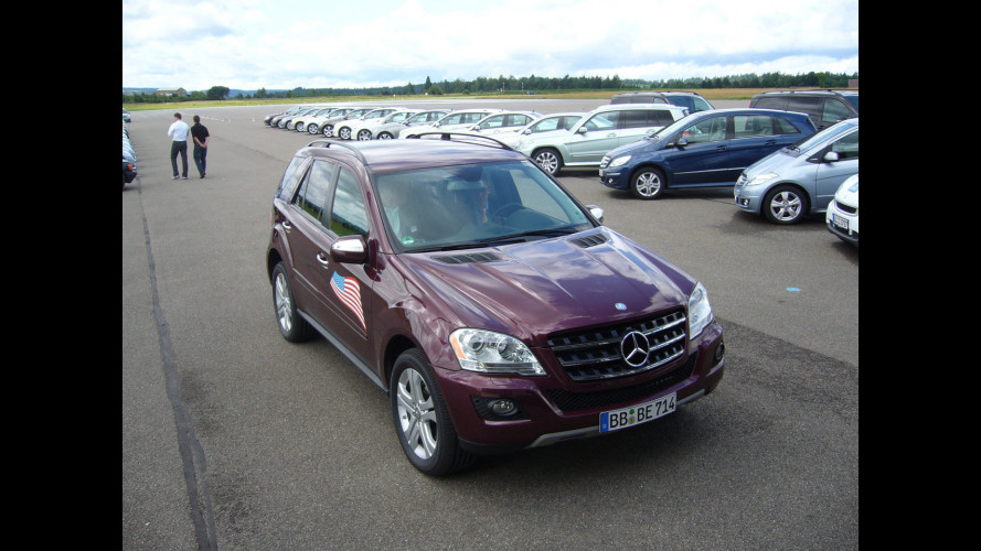Mercedes ML 450 Hybrid: primo contatto