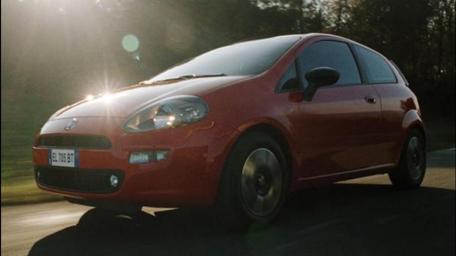 La Fiat Punto TwinAir arriva in TV