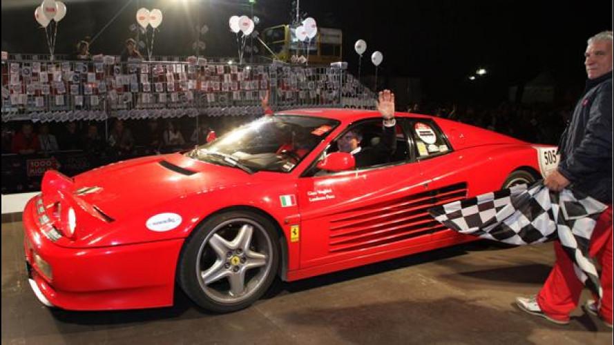 Ferrari Tribute alla Mille Miglia 2012: vincono Verghini-Fuso su 512 TR