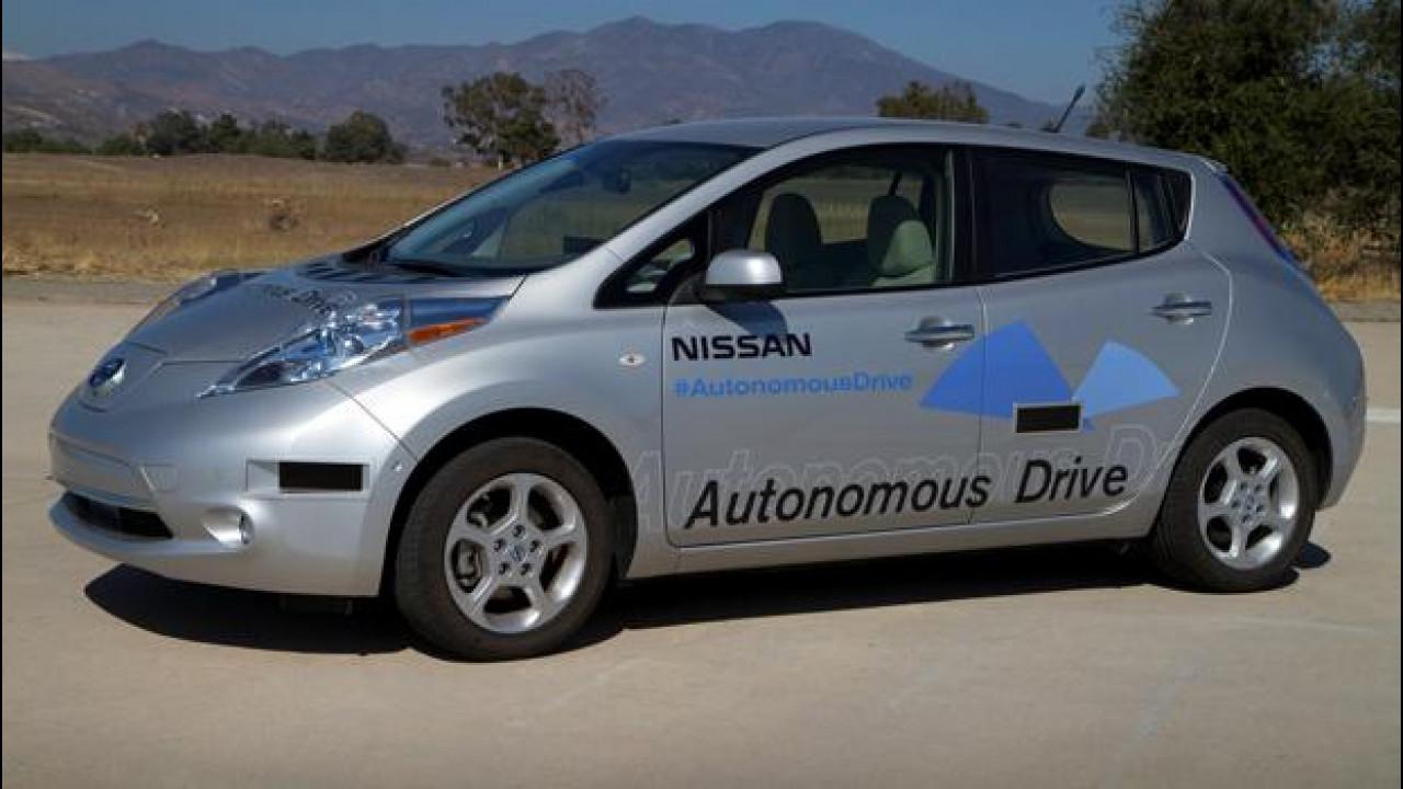 [Copertina] - Nissan: la guida autonoma pronta entro il 2020